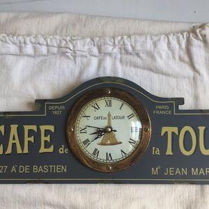 Other - Cafe de la Tour clock